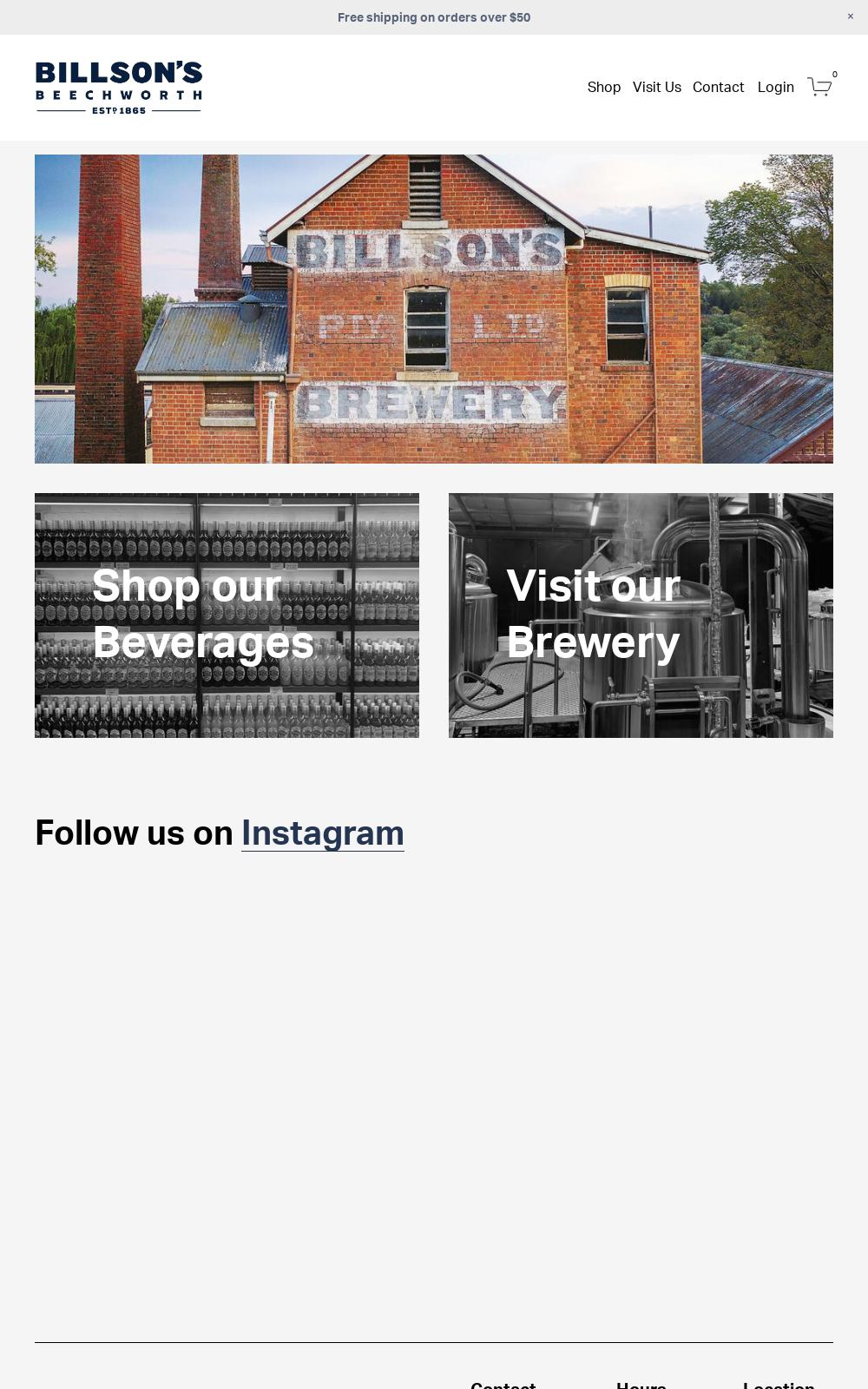 Billson's Brewery Beechworth